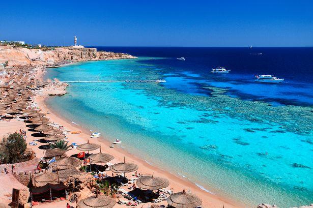 Egiptas Šarm El Šeichas Rixos Sharm El Sheich viešbutyje