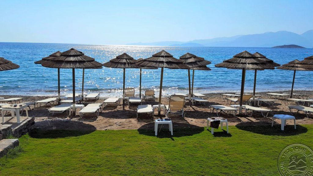 Kreta jaukiame viešbutyje spalį