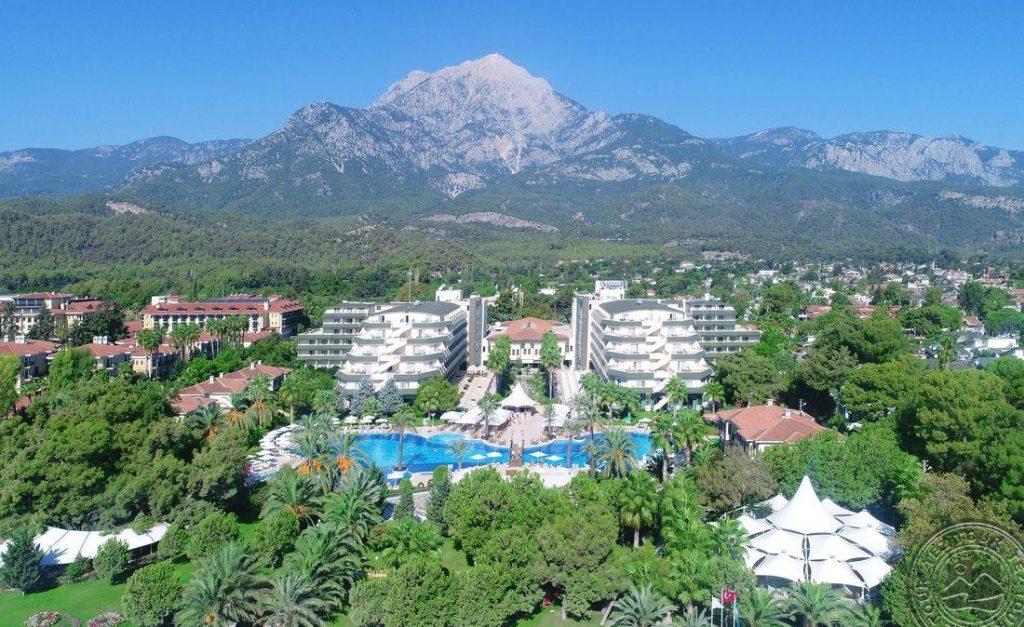 Turkija 5* viešbutyje Beleke 5* Queens Park Tekirova