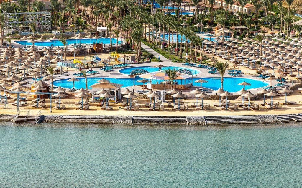 Egiptas/ Hurgada 4* viešbutyje Hawaii Le Jardin
