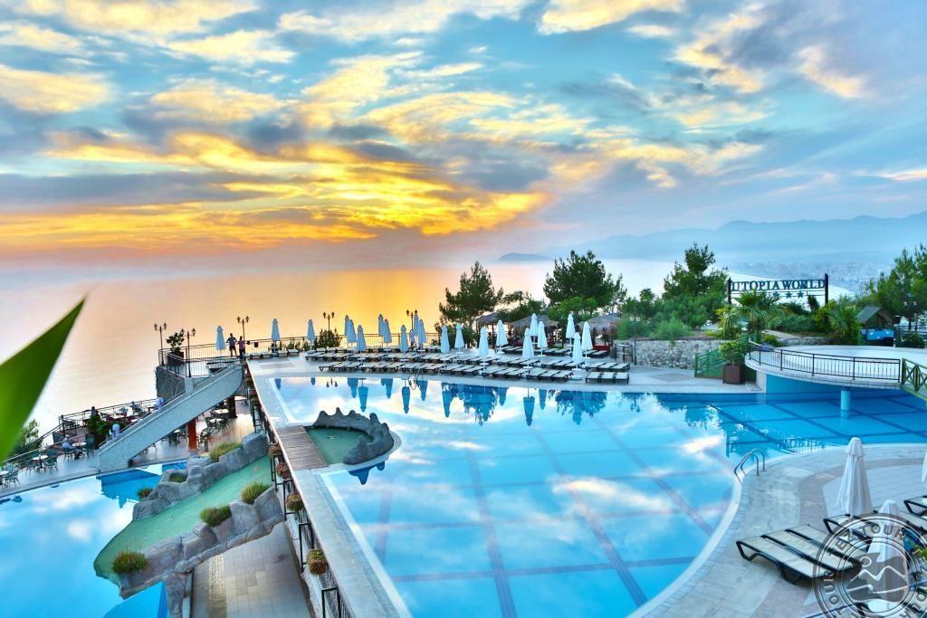 Turkija 5* viešbutyje Utopia World