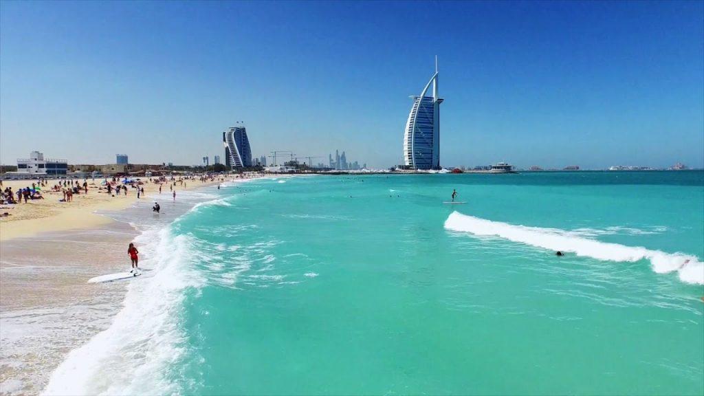 Dubajus 2020 m. sausį