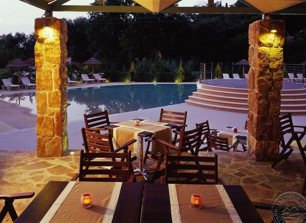 Graikija/ Korfu sala jaukiame viešbutyje spalį