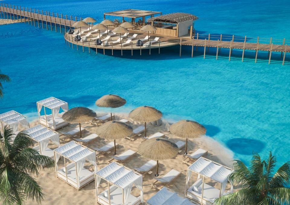 Egiptas/ Hurgada viešbutyje 5* Aqua Joy Resort
