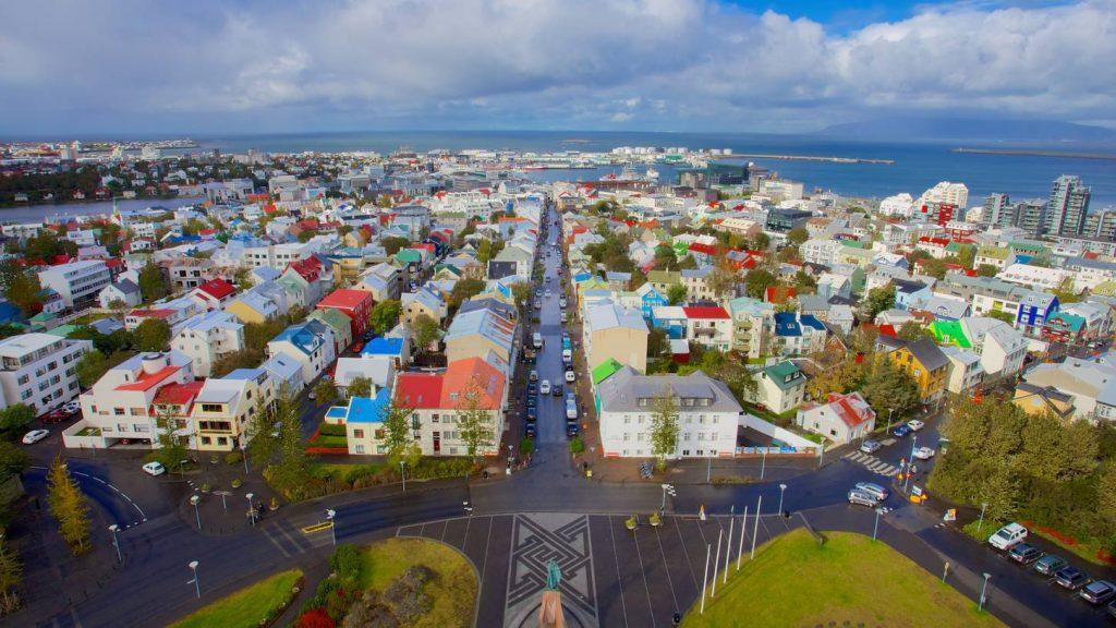 Užburianti Islandija