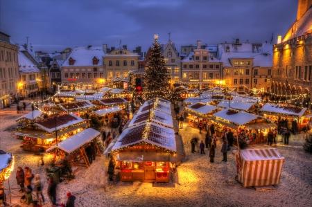 Kalėdinis Talinas ir Hidrolėktuvų uosto muziejus