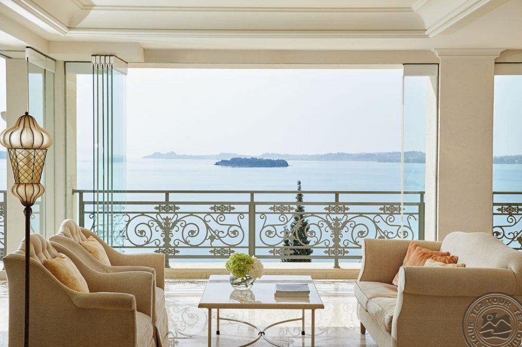 Graikija/ Korfu sala 5* Grecotel Eva Luxury viešbutyje